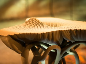 "3D printed Tellus Table for ""TM Wissen"""
